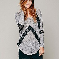 We The Free   Flying V Hacci at Free People Clothing Boutique