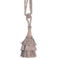 Fine Art Tapestries Beige Ellora Tapestry Tassel - TASSEL 7 - Decor