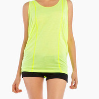 Highlighter Tank in Yellow