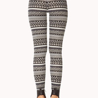 Winter Wonderland Fair Isle Leggings | FOREVER 21 - 2000128063