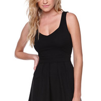 LA Hearts Textured Heart Back Dress at PacSun.com