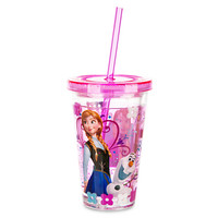 Disney Anna Tumbler with Straw - Frozen - Small | Disney Store