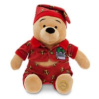 Disney Winnie the Pooh Plush - Holiday Pajamas - 12'' | Disney Store