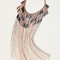 Stephan & Co.  Remi Super Fringe Statement Necklace at Free People Clothing Boutique