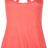 Amazon.com: FULL TILT Knot Back Hi Low Womens Tank: Clothing