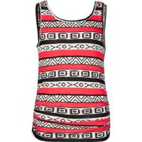 Amazon.com: FULL TILT Ethnic Girls Tank: Clothing