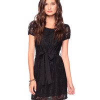 Belted Lace Dress | FOREVER21 - 2086806357