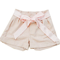 Satin Ribbon Shorts