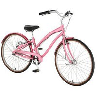 Amazon.com: Nirve Ultraliner Women's 3-Speed Automatic Shifting Hybrid Cruiser Bike: Sports & Outdoors
