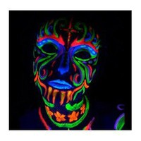 Amazon.com: Black Light Reactive Neon Makeup with Black Light Pendant (Yellow): Everything Else