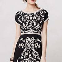 Anthropologie - Embroidered Ombra Shift