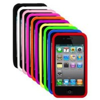 Amazon.com: Silicone Durian Vein Skins / Cases / Covers for Apple iPhone 4 / 4G AT&T, Verizon - Black, White, Pink, Orange, Purple, Green, Blue, Green, Blue, Red: Cell Phones & Accessories