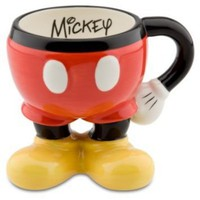 Amazon.com: Mickey Mouse Pants Ceramic Mug: Kitchen &amp; Dining