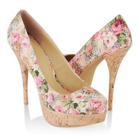 Floral Stiletto Pumps | FOREVER21