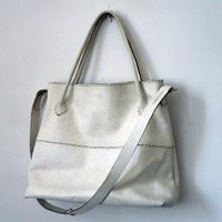 The Mombasa Tote by stonetreeleather on Etsy