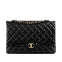 Classic flap bag  in quilted - CHANEL