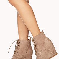 Forever Cool Brogue Booties | FOREVER 21 - 2040495590
