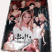 Buffy the Vampire Slayer Cast Giant Throw Blanket