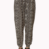 Tribal Print Harem Pants | FOREVER 21 - 2000090888