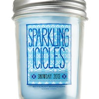 Sparkling Icicles 6 oz. Mason Jar Candle   - Slatkin & Co. - Bath & Body Works