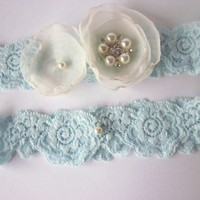 Bridal Garter Set (including Toss Garter) - Simply Flowers | Luulla