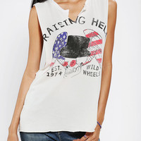 Urban Outfitters - LIFE Raising Hell Muscle Tee