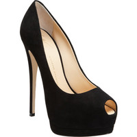 Giuseppe Zanotti Peep Toe Platform Pump at Barneys New York at Barneys.com