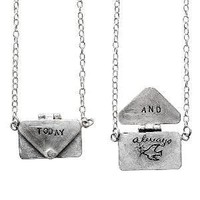LOVE LETTER NECKLACE | Yayoi Inada, Sterling Silver Jewelry, Charm, Love Note, Romance | UncommonGoods
