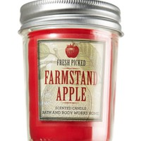 Farmstand Apple 6 oz. Mason Jar Candle   - Slatkin & Co. - Bath & Body Works
