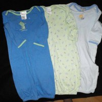Carter's Baby Boy 0 3 Months Infant Gowns Sleepwear