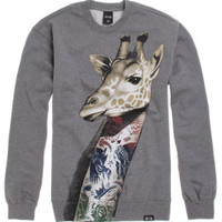 Rook Neck Tat Crew Fleece at PacSun.com