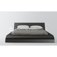 Waverly Wenge Platform Bed | Beds MD308-WEN/4