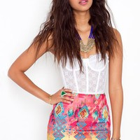 Tribal Bandage Skirt in  What&#x27;s New at Nasty Gal