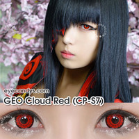GEO Cloud Red Cosplay Contact Lens CP-S7