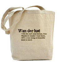 Wanderlust Defined Tote Bag by AshliesShop