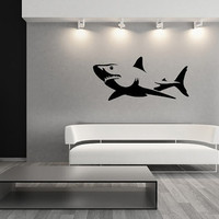 Shark Vinyl Wall Decal 22303