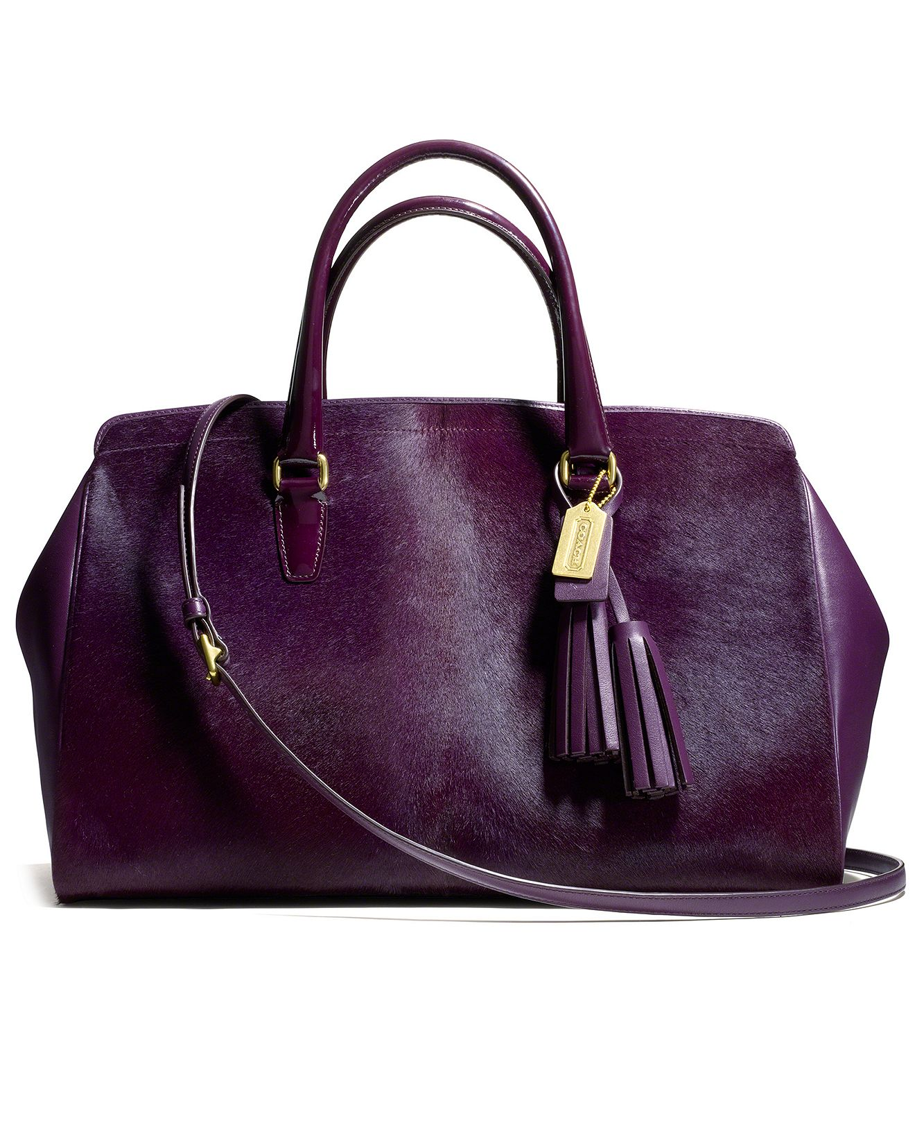 coach legacy large lowell satchel in from macys