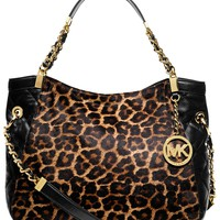 MICHAEL Michael Kors Handbag, Susannah Medium Haircalf Shoulder Tote - Shop All Michael Kors Handbags & Accessories - Handbags & Accessories - Macy's