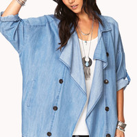 Blue Jeans Babe Chambray Jacket | FOREVER 21 - 2000093147