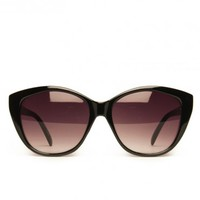 Bobcat Sunglasses in Black - ShopSosie.com