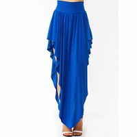 Super Solid Double-V Skirt - GoJane.com