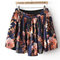 Nice colorful flower skirt