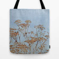 Hogweed - Almost Autumn - JUSTART © Tote Bag by JUSTART