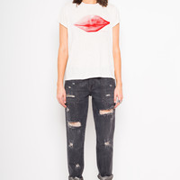 S/S LIP DELONGPRE TEE - Kelly Wearstler