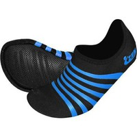 ZemGear Playa Low Junior - Barefoot Minimal Shoes - Black/Aqua