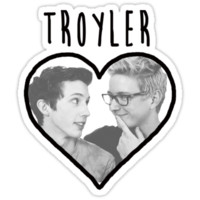 Troyler (Black Writing) by BethTheKilljoy