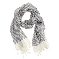 Fab: Cotton Scarf Blue