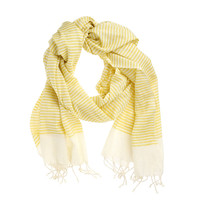 Fab: Cotton Scarf Yellow