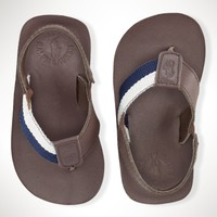 Bradley Flip-Flop - Toddler 4-10   Shoes  - RalphLauren.com