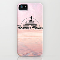 Disney forever young iPhone & iPod Case by Tilly